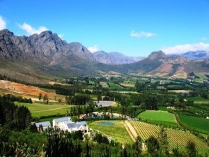 The stunning Franschhoek Valley
